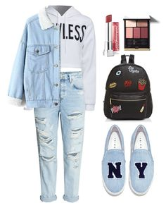 """""""plz read the description"""" by altrisa-mulla ❤ liked on Polyvore featuring WithChic, Joshua's, Ollie & B and Maybelline"""