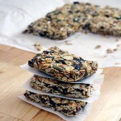 DIY No-Bake Chewy Granola Bars