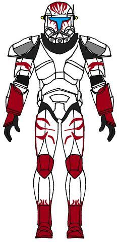 Clone Trooper Commando Sev