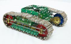 Meccano Caterpillar Track Base | Flickr : partage de photos !