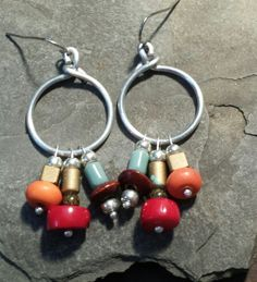 Circle and wooden beads