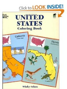 United States Coloring Book (Dover History Coloring Book): Winky Adam: 9780486401683: Amazon.com: Books