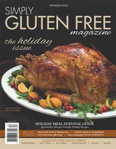 Simply Gluten Free Magazine - Nov/Dec 2012 Issue