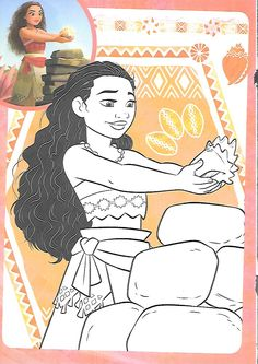 Moana Coloring Pages, Disney Coloring Sheets, Disney Paintings, Moana Party, Paper Quilling, Disney Drawings, Embroidery Applique, Disney Characters, Fictional Characters