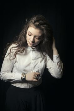 "lordeella: "" Lorde photographed by Victoria Will """