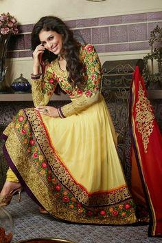 Latest Trends in Salwar Kameez - Fashion Segment