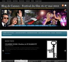 blogdecannes.fr : Création site web LoBO-GraphiK Cocktails, Blog, Film, Cannes Film Festival, Craft Cocktails, Movie, Film Stock, Blogging, Movies
