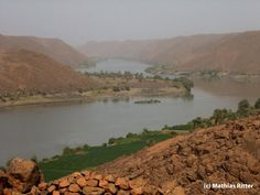 6th Cataract, Sabaloka Gorge, Sudan http://www.panoramio.com/photo/14933426