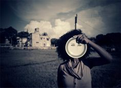 Sometimes we hide behind imagined or created masks.