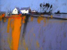 Tony Allain   The Washing Line!  Pastel