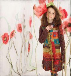 Deux part Deux colorful knit dresses perfect for fall