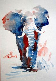 #WorldWatercolorGroup - Watercolour by Hazel Soan - Doodlewash