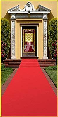 Beistle White Carpet Runner 24-Inch x 15