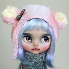 Pastel Bear  #tiinacustom #customblythe