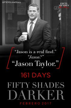 """#Countdown #FiftyShadesDarker 161 days to go """"Come, the apartment is clean. We can go back."""" """"What about our things at the hotel?"""" """"Taylor has collected them already."""" Oh! When? """"Earlier today, after he did a sweep of The Grace with his team.""""..."""