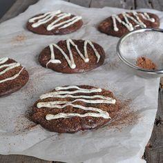 Dreamy brownie-like chocolate cookies! No flour and gluten free! must make paleo