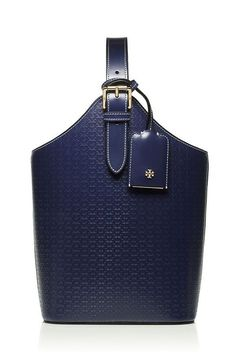 Tory Burch Soft Embossed 'T' Wine Tote