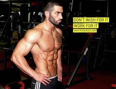 I am always looking for motivational quotes. But a great quote plus. Pic of Lazar Angelov is always inspirational.