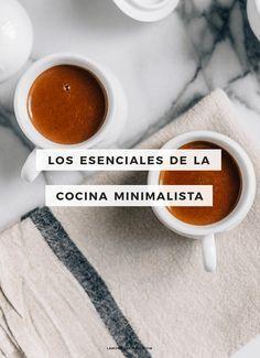 Los esenciales de la cocina minimalista