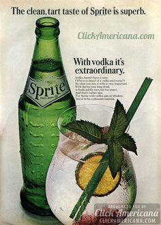 Sprite and vodka...never thought of this, but it might be worth a try. Sounds like it could induce a mother of a hangover, though.