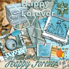 Happy Forever 2 Happy Forever 2 [] - $1.99 : Caroline B., My Magic World of Digital Design, wedding, album
