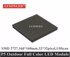 Cheap outdoor led module, Buy Quality led display module directly from China p5 outdoor led module Suppliers: 2017 Factory Selling Full Color 160x160mm 1/8 Scan P5 Outdoor Smd Led Display Module For Hd Exterior Led Video Display