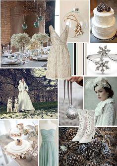 Papaver Designs: Papaver Loves... Winter wonderland wedding mood board