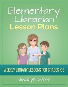 Free Library Lesson Plans - Elementary Librarian