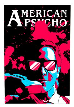 Horror Movie Posters, Horror Movies, Scary Movies, Great Movies, Horror Villains, Film Poster Design, American Psycho, Scary Art, Christian Bale