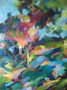"Saatchi Art Artist Eva Csontos; Painting, ""Landscape083"" #art"