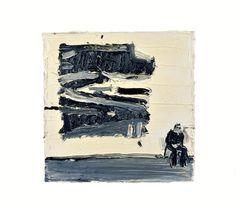 Invigilator (John Virtue), 2014, Enzo Marra