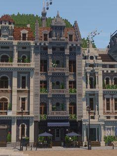 Minecraft Building Guide, Minecraft Plans, Minecraft Blueprints, Lego Minecraft, Minecraft Crafts, Minecraft Houses, Minecraft City Buildings, Minecraft Architecture, Minecraft House Designs