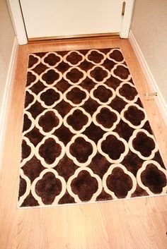DIY Throw rug designs