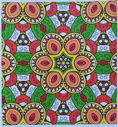 Creatie 2016 24 19 11 Mandala Kleurboek Zeeman Met Sharpies