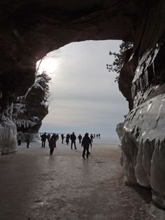 Ice Caves March 2014.  Photo by Sandy Buss.