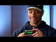 This vid is a must see. What a great guy! Seahawks Fans, Seattle Seahawks, Funny Inspirational Quotes, Russell Wilson, 12th Man, Football Team, Role Models, Wallet, Guys