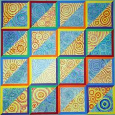 Warm and cool colors by my 3rd graders (Donna Staten)