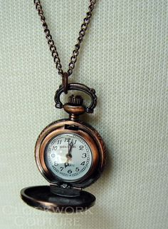 copper pocketwatch Victorian Era, Inventions, Pocket Watch, Steampunk, Copper, Pendant Necklace, Photography, Life, Accessories