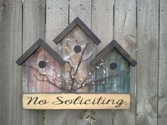 Image result for bird house signs