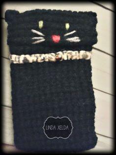 Funda gato crochet Linda Xelda