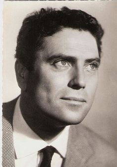 Raf Vallone, the blue eyed Italian hunk - Things you might not know about him: Born in Calabria; studied Law & Philosophy at the University of Turin; entered his father's law firm; played professional football for Torino & won the Coppa Italia w/his team 1935/36; worked for La Stampa; served w/the communist resistance during WWII; never wanted to be an actor;  was married for 50 years to the same woman until his death at 86...