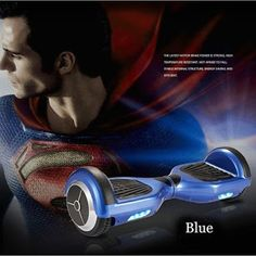 Superman ellectronic scooter at www.bravearscooters.com