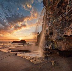 Melasti Beach, Indonesia | Photography by ©Jonathan Danker