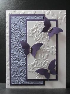 butterfly purple embossing folders is creative inspiration for us. Get more photo about home decor related with by looking at photos gallery at the bottom of this page. We are want to say thanks if you like to share this post to another people via your facebook, pinterest, google plus …