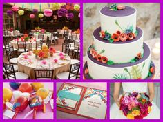 Mexican theme wedding