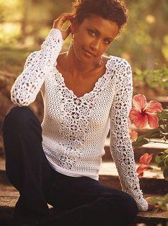crochet top