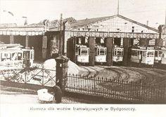 Zajezdnia tramwajowa przy dworcu PKP