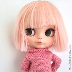 Un preferito personale dal mio negozio Etsy https://www.etsy.com/it/listing/486558247/reserved-ooak-custom-blythe-doll-fake