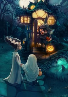 Happy Halloween by engelszorn.deviantart.com on @deviantART
