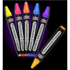 GLOW PARTY - CRAYONS